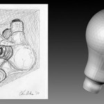 Sketch and 3D Model