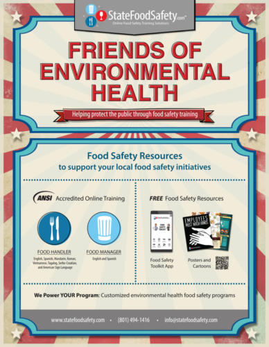 StateFoodSafety Health Department Value Prop Poster